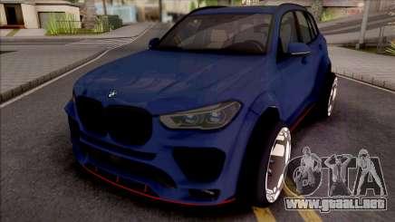 BMW X5 Tuning para GTA San Andreas