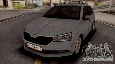 Skoda Fabia 2020 para GTA San Andreas