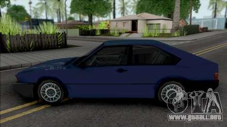 Volkswagen Passat GTS Pointer 1988 para GTA San Andreas