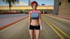 DOA6 Mila Energy Up Training Wear para GTA San Andreas