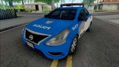 Nissan Versa 2019 PMERJ Improved v2.1 para GTA San Andreas