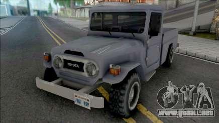 Toyota Land Cruiser (Pick Up) para GTA San Andreas
