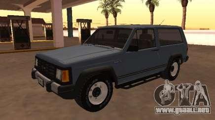Envemo Camper 1990 para GTA San Andreas
