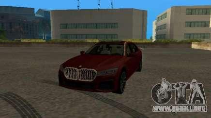 BMW 750Li Xdrive 2021 para GTA San Andreas