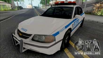 Chevrolet Impala 2003 NYPD (1024x1024 Texture) para GTA San Andreas
