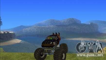 Camión monstruo Kisaan para GTA San Andreas