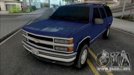 Chevrolet Suburban GMT400 1998 Improved para GTA San Andreas