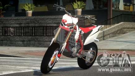 Honda CRF 250 L2 para GTA 4