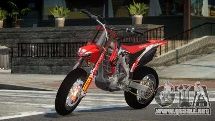 Honda CRF 250 L1 para GTA 4