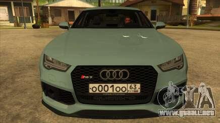Audi RS7 Performance para GTA San Andreas