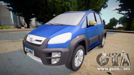 Fiat Idea Adventure 2011 para GTA San Andreas