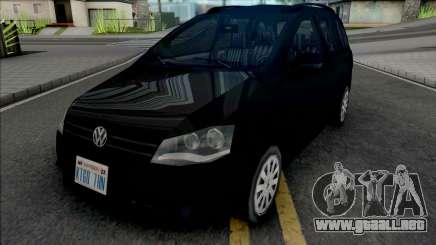 Volkswagen Spacefox 2012 para GTA San Andreas