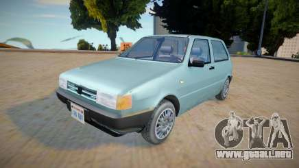 Fiat Uno Mille 1995 - Improved para GTA San Andreas