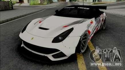 Ferrari F12 Berlinetta Prinz Eugen para GTA San Andreas