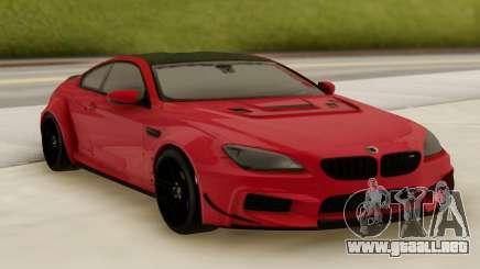 BMW M6 Prior Design Edition para GTA San Andreas