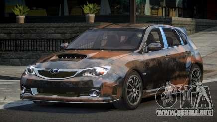 Subaru Impreza GS Urban L6 para GTA 4