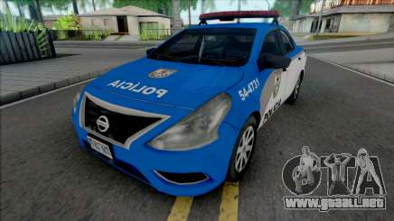Nissan Versa 2019 PMERJ Improved v2.1 para GTA San Andreas