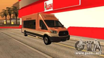 Ford Transit Food Truck para GTA San Andreas