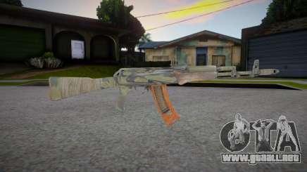 AK-47 (Metro 2033) para GTA San Andreas