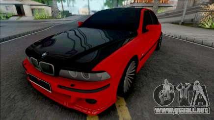 BMW 5-er E39 Red Black para GTA San Andreas