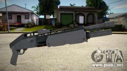 GTA V: Combat Shotgun para GTA San Andreas
