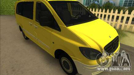 Mercedes-Benz Vito Van 2007 para GTA Vice City