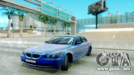 BMW E60 para GTA San Andreas
