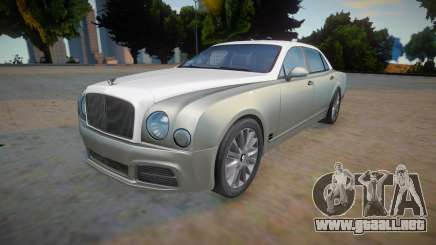 Bentley Mulsanne para GTA San Andreas