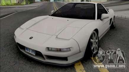 Acura NSX 1991 Camber Edition para GTA San Andreas