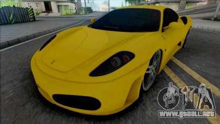 Ferrari F430 34 VUH 58 para GTA San Andreas