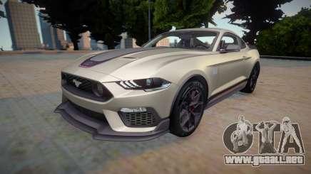 Ford Mustang 2021 para GTA San Andreas