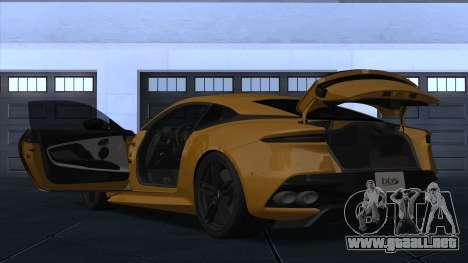 Aston Martin DBS Superleggera para GTA San Andreas