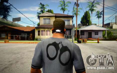New Half Skull Mask para GTA San Andreas
