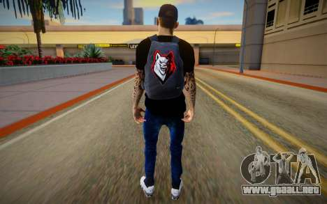 Man With Bag para GTA San Andreas