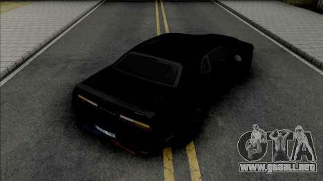 Dodge Challenger SRT Demon Unmarked Police para GTA San Andreas