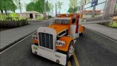 Kenworth W900 Orange