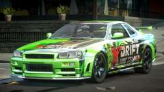Nissan Skyline PSI Drift L1 para GTA 4
