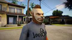 GTA V Halloween mask V3 para GTA San Andreas