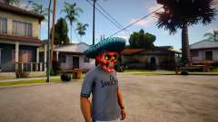 Mariachi Skull Mask For CJ para GTA San Andreas