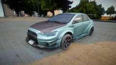 Mitsubishi Lancer Evo X Varis para GTA San Andreas