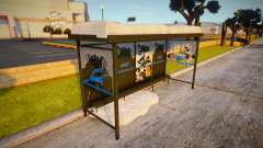 Winter Bustop para GTA San Andreas