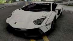 Lamborghini Aventador LP700-4 Liberty Walk para GTA San Andreas