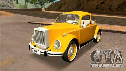 Volkswagen Beetle Mini Rolls Royce 1971 - Brasil para GTA San Andreas