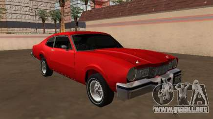 1975 Mercury Comet Coupe para GTA San Andreas