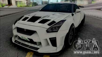 Nissan GT-R R35 Kream Edition para GTA San Andreas