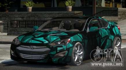 Hyundai Genesis GST Drift L2 para GTA 4