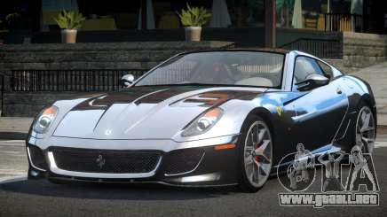 Ferrari 599 GTO BS para GTA 4