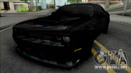 Dodge Challenger SRT Demon Unmarked Police para GTA San Andreas