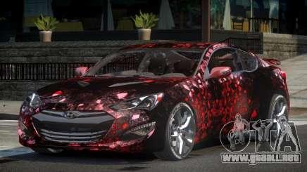 Hyundai Genesis GST Drift L6 para GTA 4