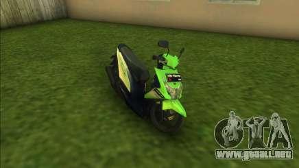Honda BeAT FI para GTA Vice City